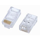 EQUIP Cat.5e RJ-45 Connector [121140] - RJ45 Connector